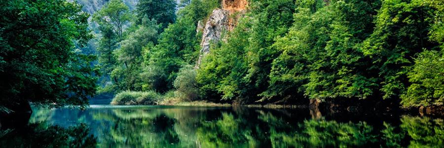 Живописные пейзажи каньона Матка. Македония